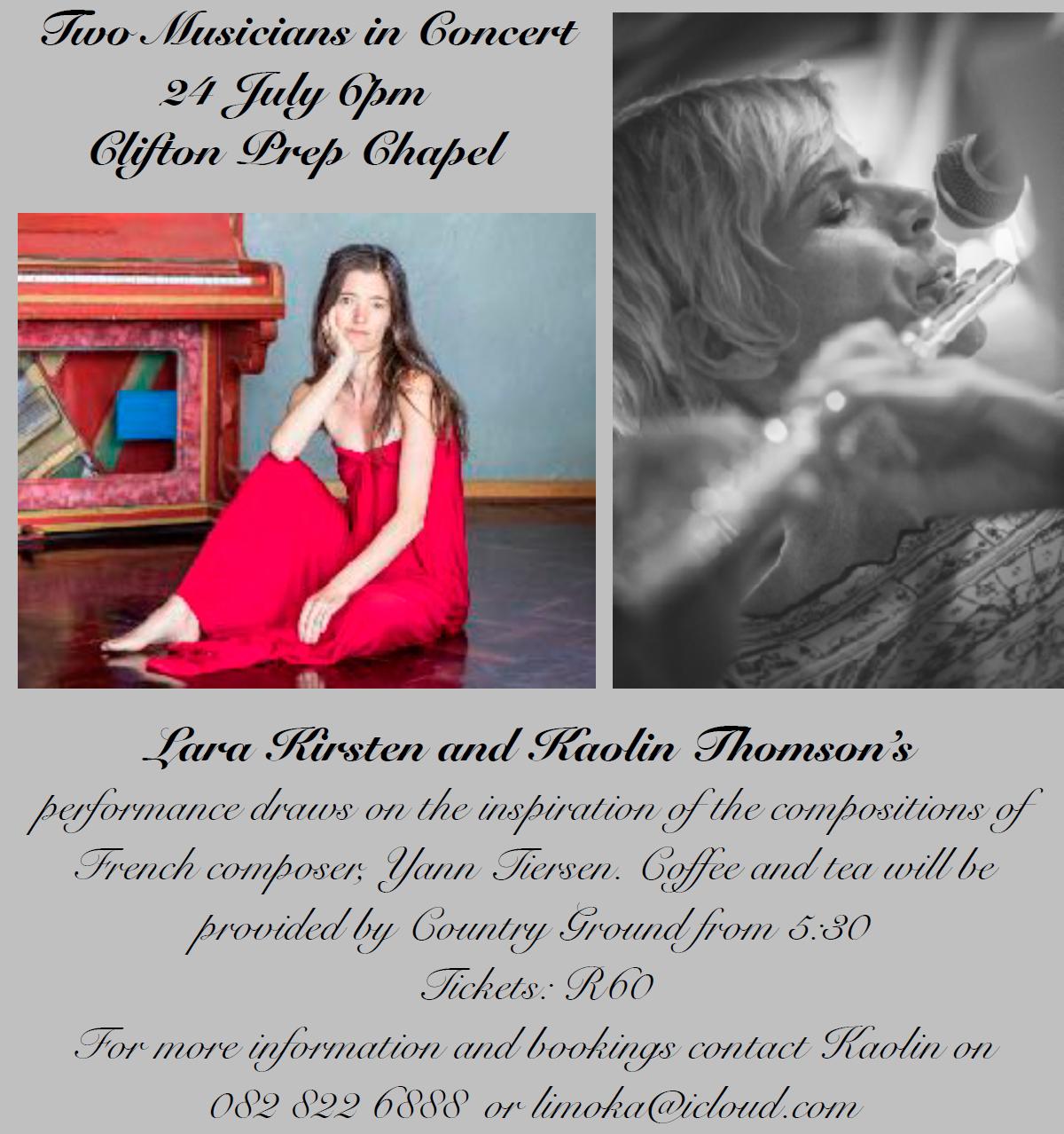 A Magical Musical Collaboration – Lara Kirsten and Kaolin Thomson
